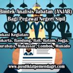 Pelatihan Analisis Jabatan (ANJAB) Bagi Pegawai Negeri Sipil