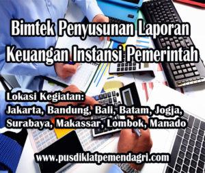 Pelatihan Penyusunan Laporan Keuangan Instansi Pemerintah