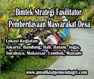 Diklat Strategi Fasilitator Pemberdayaan Masyarakat Desa