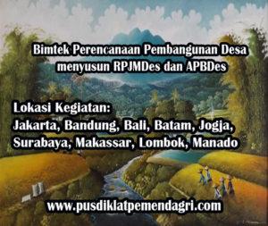 Pelatihan Perencanaan Pembangunan Desa menyusun RPJMDes dan APBDes