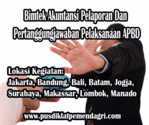 Pelatihan Akuntansi Pelaporan Dan Pertanggungjawaban Pelaksanaan APBD