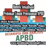 Pelatihan Sosialisasi Pedoman Penyusunan APBD
