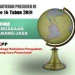 Sosialisasi Perpres No.16 Tahun 2018 tentang PBJ