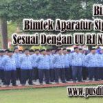 Diklat Aparatur Sipil Negara (ASN) Sesuai Dengan UU RI No 5 Tahun 2014