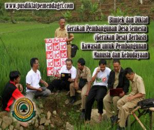 Pelatihan Gerakan Pembangunan Desa Semesta (Gerakan Desa) Berbasis Kawasan untuk Pembangunan Manusia dan Kebudayaan