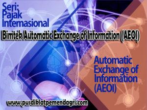 Bimtek Automatic Exchange of Information (AEOI)