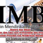 Bintek Mekanisme dan Tata Cara Penyusunan dan Penerapan Standar Operasional Prosedur Izin Mendirikan Bangunan (SOP IMB)